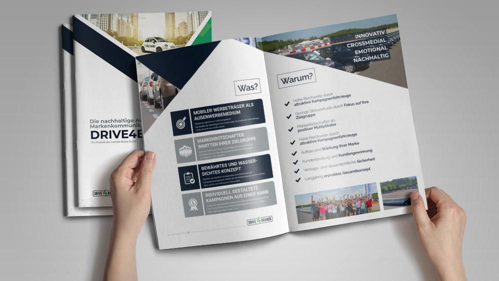 Firmen-Broschüre