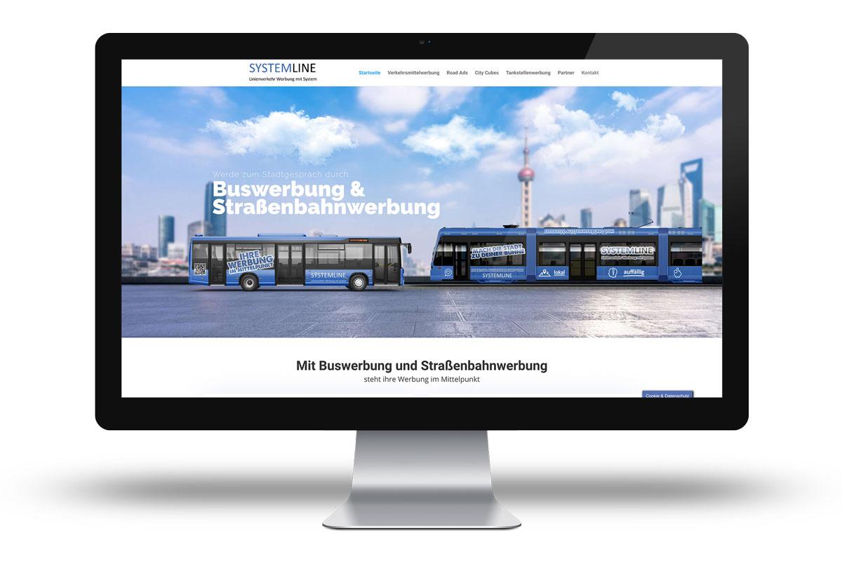 Website für eine Werbeagentur