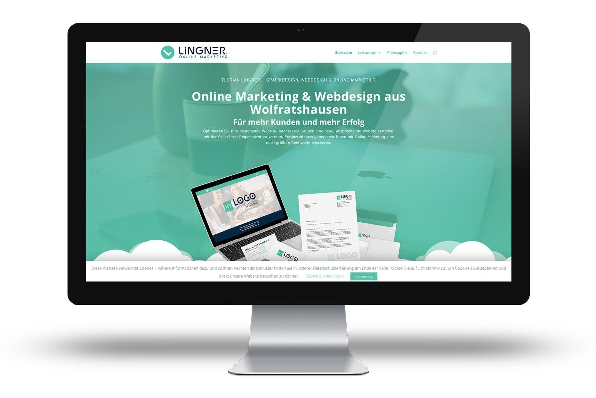 Website für Lingner Online Marketing