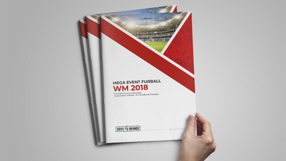 Broschüre zur Fußball WM